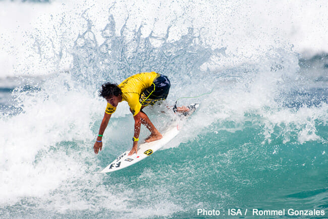 ISA「2014 VISSLA World Junior Surfing Championship」