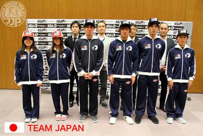 ISA世界ジュニア選手権大会のチームジャパン結団式を開催