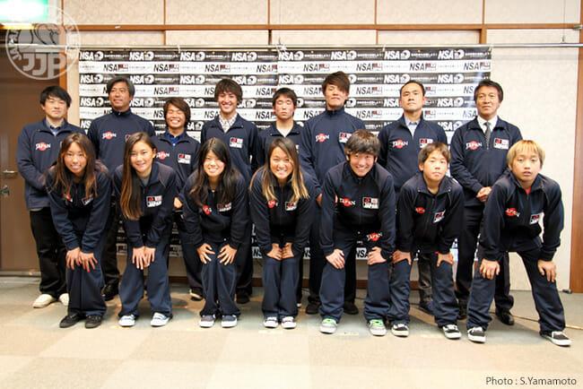 2014 Vissla ISA World Junior Surfing Championship チームジャパン結団式、開催。